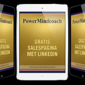 Een gratis Salespagina met LinkedIn (Nederlands)
