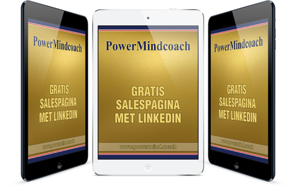 Gratis salespagina met LinkedIn online training