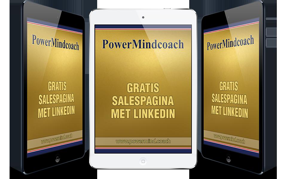 Gratis salespagina met LinkedIn online training