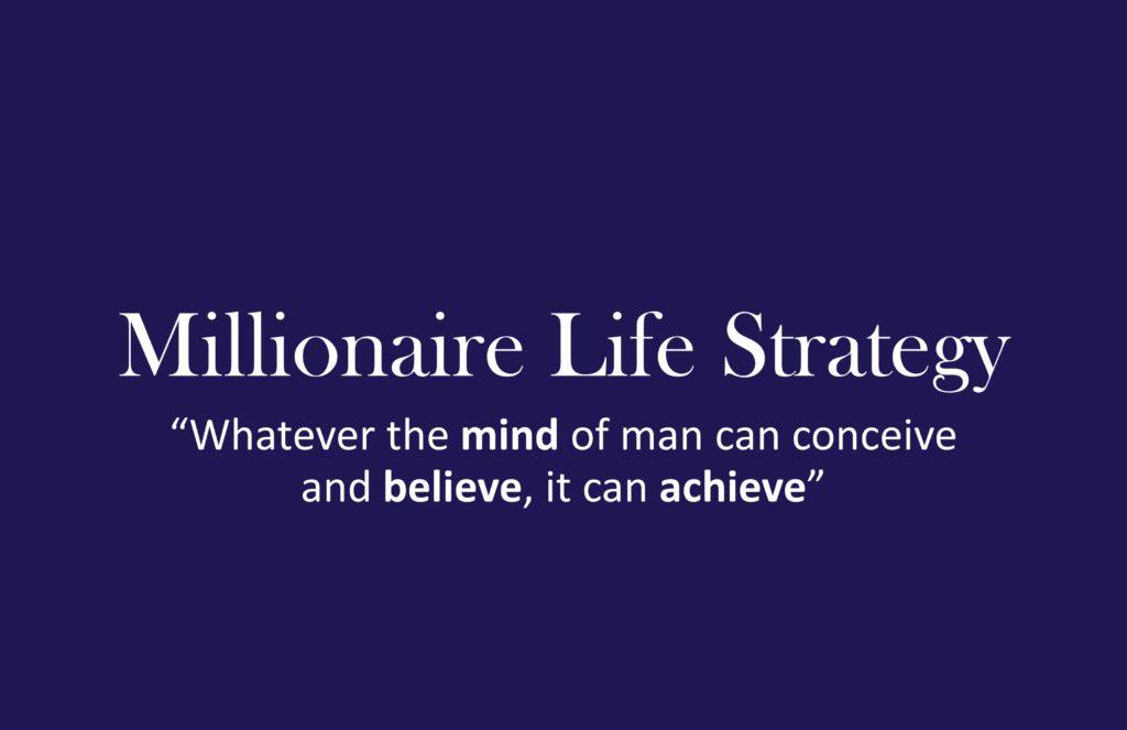 Logo Millionaire Life Strategy long