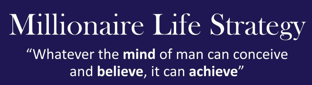 Logo Millionaire Life Strategy long and small